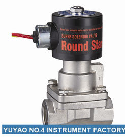 "1/4""Stainless Steel Solenoid Valve Steam Normally Closed Low Pressure"